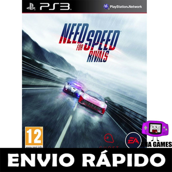 Need For Speed Rivals Ps3 - Jogo Digital
