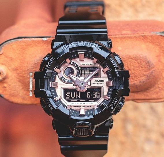 Relógio G-shock Preto Ga 700