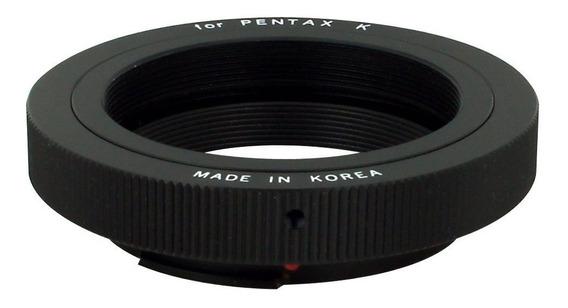 Anel Adaptador Lentes Ou Telescópio T/ M42 Câmera Pentax K