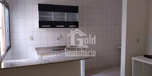 Apartamento Com 1 Dormitório Para Alugar, 45 M² Por R$ 1.000/mês - Jardim Irajá - Ribeirão Preto/sp - Ap3163
