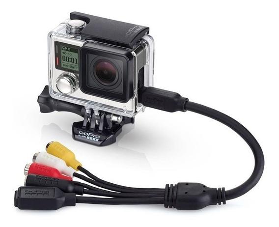 Cable Combo Gopro (micrófono, Usb, Rca) Tienda Autorizada