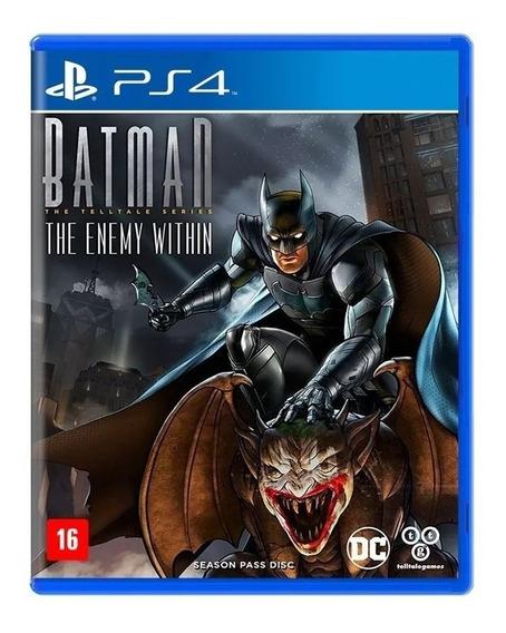 Batman The Enemy Within Ps4 Mídia Física Novo Nacional Rj