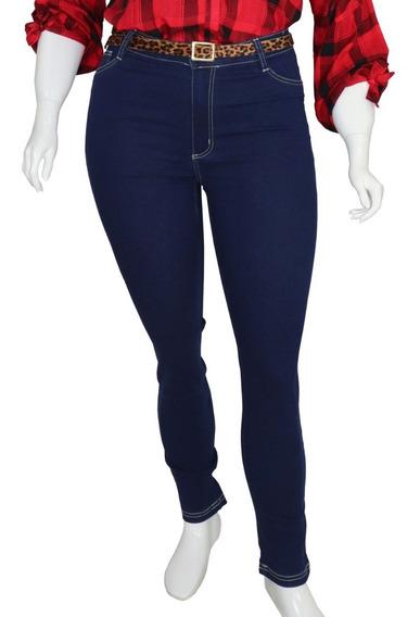 Calça Jeans Skinny Cropped Plus Size Feminina Cambos 44 A 58