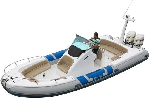 Embarcação Inflável 800 Full Popa - Pvc - Zefir
