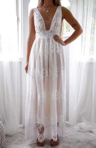 Vestido Largo De Fiesta (dreams)
