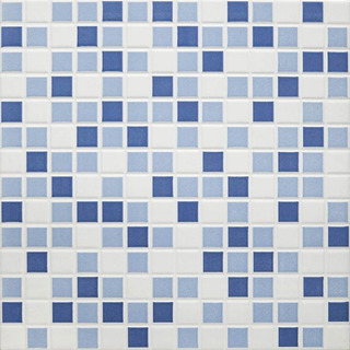 Ceramica Imitacion Venecita Para Piscinas Mix Blue