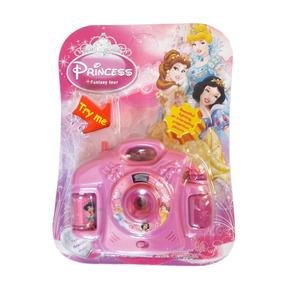 Camera Fotográfica Infantil Princesas Disney