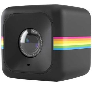 Câmera De Ação Full Hd Cube Polaroid Preta 27412