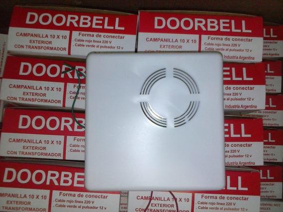 Campanilla Timbre Doorbell C Transformador 220v 12v
