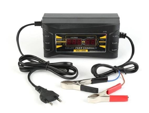 Carregador Bateria Automotiva 6a Inteligente 12v Bivolt Dig