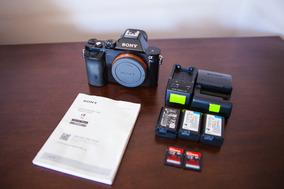 Camera Sony A7s + 6 Baterias + 2 Carregadores Alpha Ilce 7s