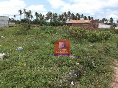 Terreno Residencial À Venda, Barra De Cunhaú, Canguaretama. V0212 - Te0001