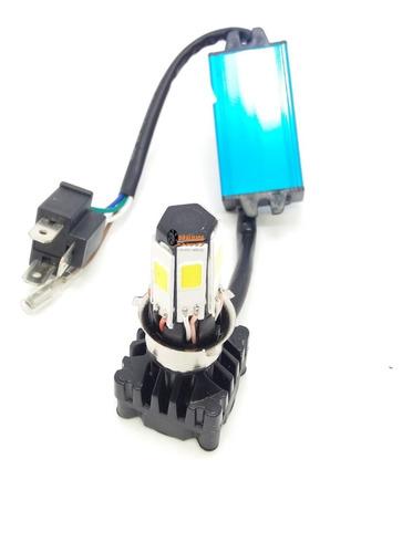 Imagen 1 de 7 de 1 Bombillo Luz Led Mini 4100lm 6000k Moto/carro Hjg