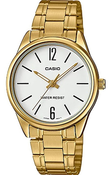 Relógio Casio Collection Feminino Ltp-v005g-7budf