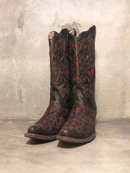 Bota Corral   Br 36,5 - Eua 8   Country Cowgirl Feminina