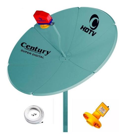 Antena Parabolica + Lnbf Multiponto Estendida + Cabo + Capa