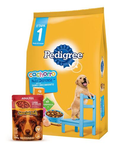 Imagen 1 de 3 de Comida Perro Pedigree Cachorro 8 Kg+regalo