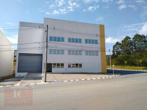 Galpão, 1.167 M² - Venda Por R$ 4.000.000 Ou Aluguel Por R$ 17.500/mês - Centro Empresarial Raposo Tavares - Vargem Grande Paulista/sp - Ga0053