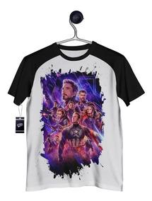 Camisa Avengers Camiseta Ultimato Vingadores Endgame 03