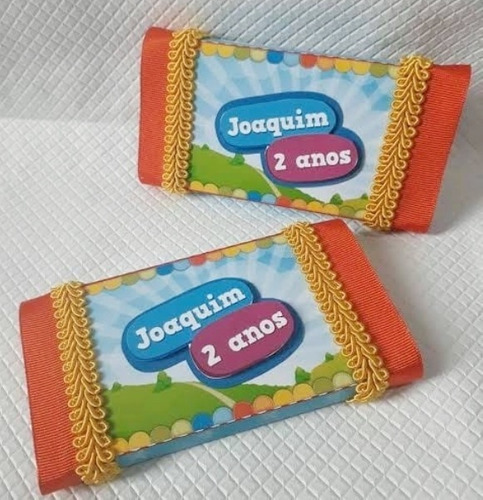 Caixa Porta Chocolate (kit Kat) - 10 Unid