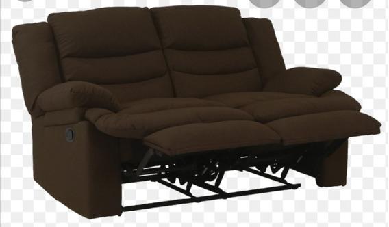 Sofa Reclinable, 2 Plazas, Chocolate