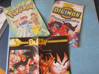 Álbum Digimon, Pokemon E Pôster
