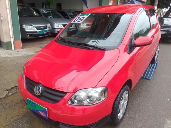 Volkswagen Fox 2009 1.0 Vht Plus Total Flex 3p Vermelho