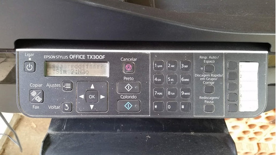 Epson Office Tx 300 F, Ligando No Estado.