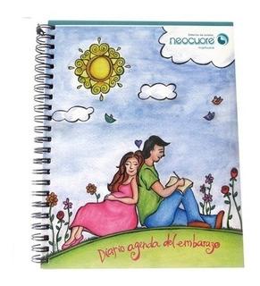 Diario Agenda De Embarazo Mama Bebe Mes A Mes Cuaderno Guia