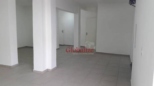 Loja Para Alugar, 120 M² Por R$ 5.900,00/mês - Vila Belmiro - Santos/sp - Lo0002