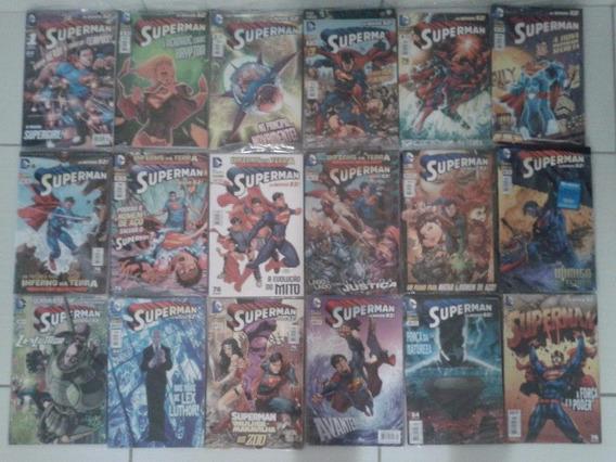 Lote De Hqs Do Superman (novos 52) - #1 A #35