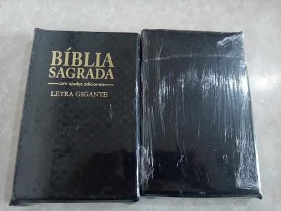 Biblia Sagrada Letra Gigante Tamanho 21x13 Antigo E Novo Tes