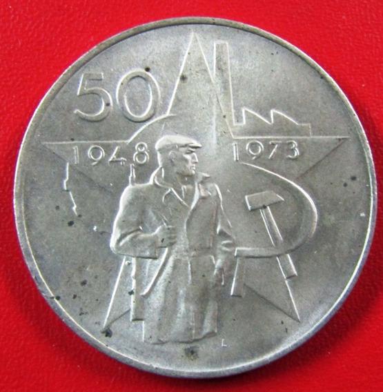 Checoslovaquia Medalla Plata Socialista 1973