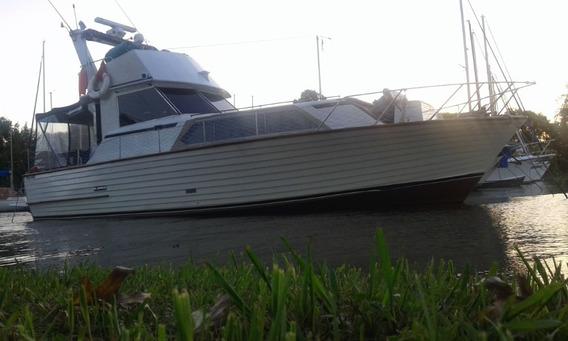 Crucero Fly Fisherman, Barco, Clásico, Yate Motor