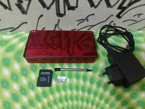 Nintendo 3ds 16gb + Varios Jogos À Escolha