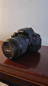 Canon T5i + Lente 18-55 F/3.5-5.6 + Acessórios