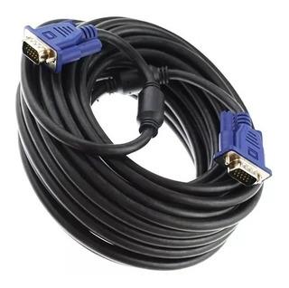 Cable Vga Macho - Macho 10 Metros Monitor Proyectores