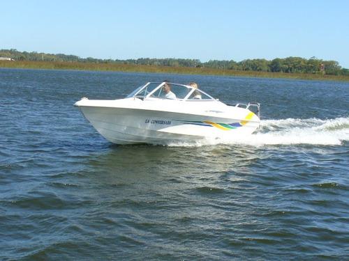 Lancha Sportfish 4.60 Con Mercury 40 Hp