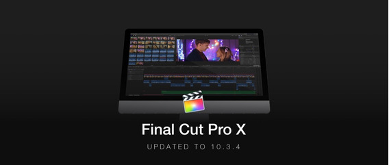 Final Cut Pro X 10.3.4