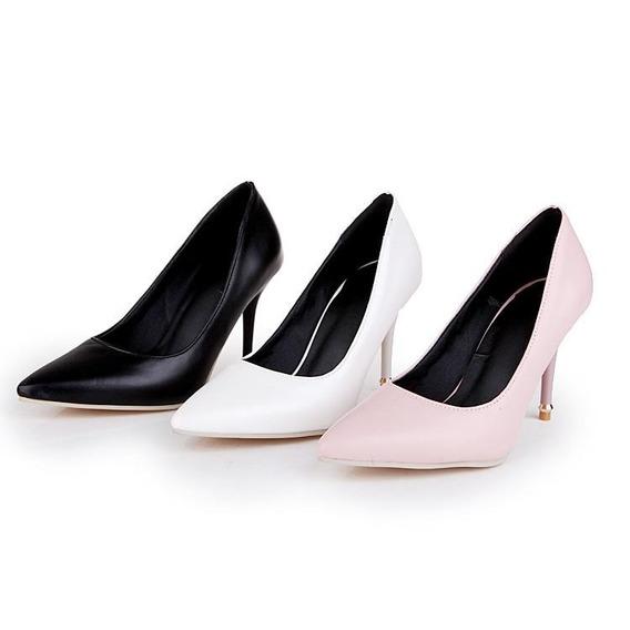 Sapato Feminino Blxqpyt 81856 Importado Frete Grátis