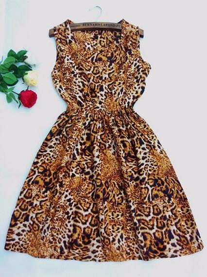 Vestido Verão Chifon Rodado Floral Estampas Frete Grátis