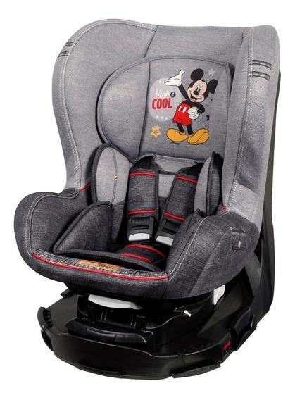Cadeira Para Auto Disney Revo Denim Mickey Mouse - Teamtex
