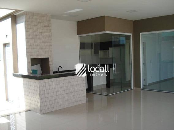 Casa Residencial À Venda, Residencial Gaivota Ii, São José Do Rio Preto. - Ca1355