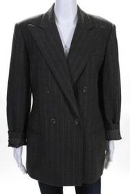 Blazer Importado M Ralph Lauren Luxuoso Elegante Lã Cinza