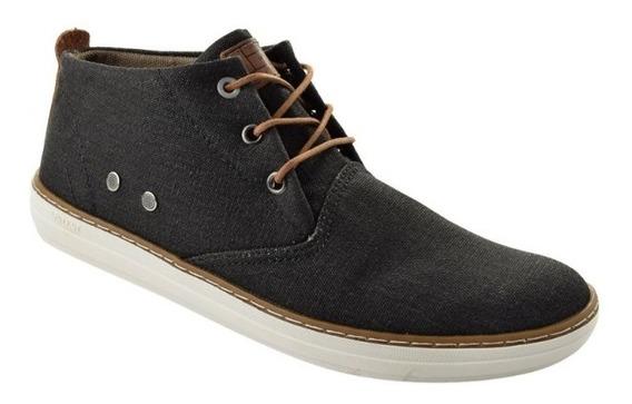 Bota West Coast Cano Médio Jeans Masculino - 118617 Jeans
