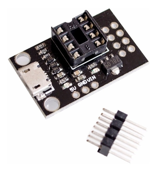 10x Attiny85 Modulo Programador Usb Digispark Adaptador C/nf