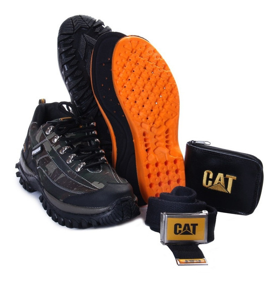 Tenis Trilha Bota Caterpillar Adventure Caminhada +kit Grati