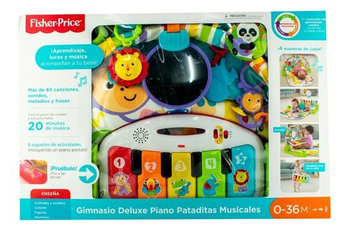 Gimnasio Piano Pataditas Musical Azul  Fisher Price