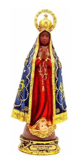 Imagem Escultura Nossa Senhora Aparecida 20 Cm
