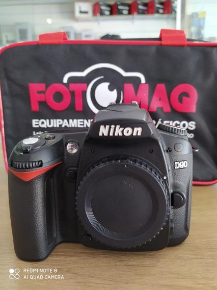 Câmera Fotográfica Nikon D90 Relíquia !